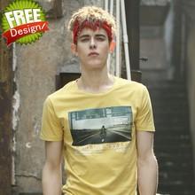 OEM/High end custom t-shirt side split