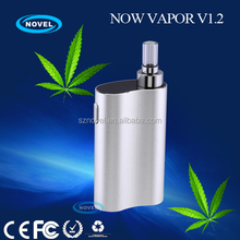 Smallest handheld vaporizer in the world Now Vapor V1.2 adamantium x box mod with only 82mm long