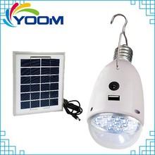 YMC-ED2 bright 1W rechargeable bulb daily use emergency solar power led lighting bulb