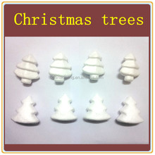 beautiful styrofoam clean chirstmas trees for DIY decoration