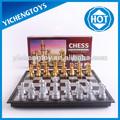 plegable magnético de ajedrez y plata goldern