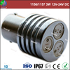 Super bright 1156/1157/1142/1141,3W,12V DC,pass CE/ROHS,led light auto tuning
