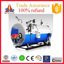 CE ISO BV certificate factory price trade assurance fire tube gas/oil steam boiler
