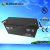 2015 year best popular ISO CE UL 12v 150ah mobility scooter batteries