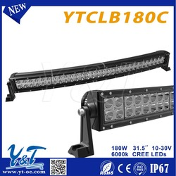 Super Power LED Light Bar double Row 31.5inch LED driving light bar offroad led light bar 31.5inch 180w work Truck led light bar