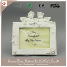 Photo Frame, Picture Frame European Beauty Resin Angel White Ceramic Angel
