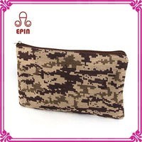Zipper pencil pouch - fabric pencil case oversized for girls