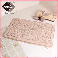 Flannel Microfiber Super Absorbent Decorative Kitchen Floor Mats