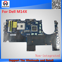 Excellent quality CN-0KNF1T Laptop Motherboard For Dell M14X R2 Mainboard DDR3 Non-Integrated LA-8381P 100% Tested