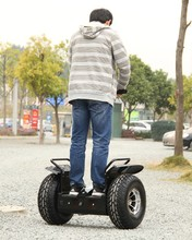 two wheel self-balancing electric think scooter , off road type