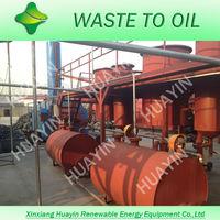 Crude Oil Refinery/Used Engine Oil Distillation To Diesel Equipment