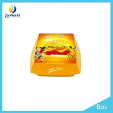china wholesale customized new fashion design food packing box
