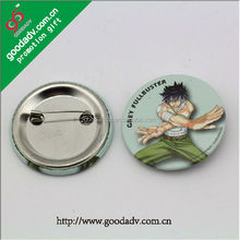 Cheap price Metal Button Badge/ Wholesale Custom Tin Badge