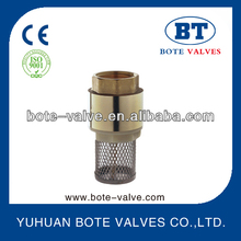 BT5003 1 2 inch brass spring loaded check valve
