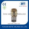 BT5003 brass spring loaded check valve