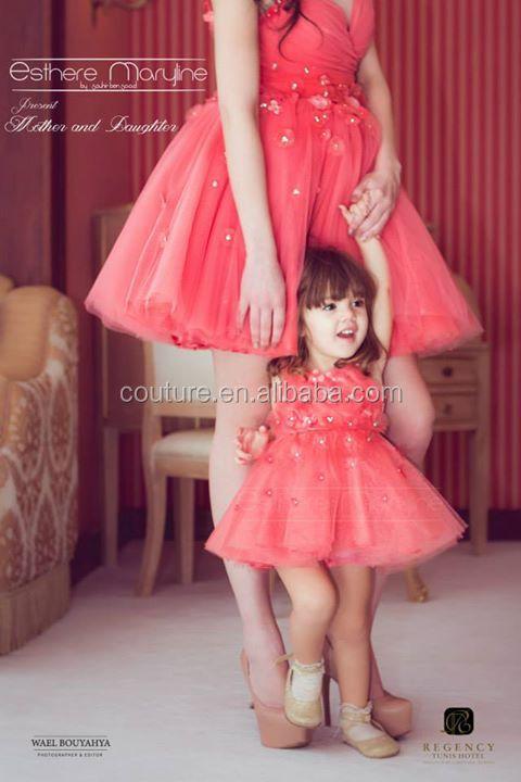 Top robes blog robe de soiree mere et fille - Robe mere fille ...