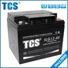 2015 best sell maintenance free AGM ups/ solar battery valve regulated rechargeable battery/ 12v 40ah lead acid battery