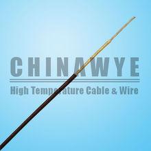 Flexible Pure Nickel Core High Temperature Fiberglass Lappings Wire