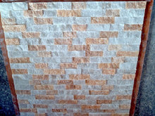 Cheapest white mixed yellow paving stone on net