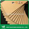 1830x3660x16MM E2 furniture Plain mdf board / Raw mdf sheet/ MDF