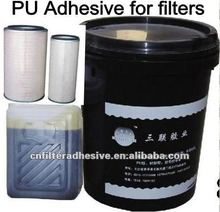 two component chemical adhesive gule-filter boding glue