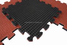 hot sale! safe outdoor playground kids rubber floor mats