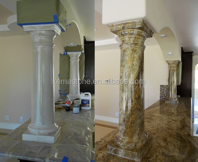 Int rieure et ext rieure murale d corative colonnes pilier for Colonne decorative exterieur
