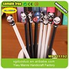 Promotional Fashion pencil charm for children gift, soft rubber PVC decoration pencil topper