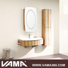 Waterproof Wooden Modern Commercial Bathroom Vanity Units