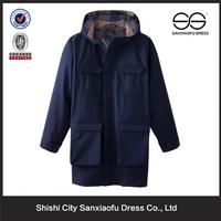 Mens European Fashion Winter Coats Thread Price, Fashion Clothes with Cheap Price