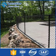 brown pvc 1 inch chain link fence for baseball fields