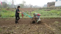 KYM Group Mini Type For Dry Land To Aerate And Loosen The Soil Garden Cultivator