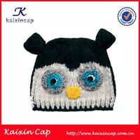 Wholesale Custom 100 Acrylic Knitted Kids Winter Hat