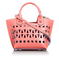Lelany branded design hollow out fashion bags handbag for girls Alibaba China