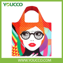 Free Cart Mart Rolling Foldable Shopping Tote Bag In Pouch Pattern Manufacturers