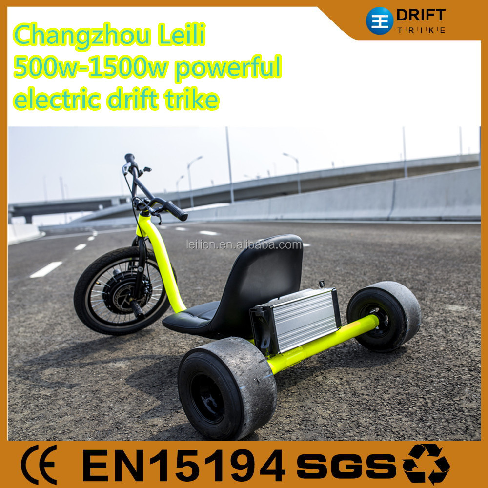Electric big wheel drift trikes for adults
