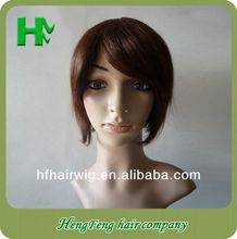 Short Blonde Human Hair Full Lace Wig