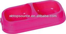 11165 cheap plastic colorful pet bowl