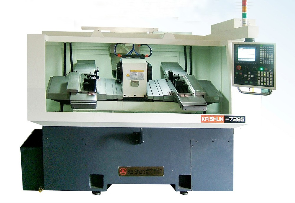 Both ends simultaneous cutting cnc lathe, View cnc lathe, KA SHUN ...