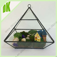 2 Duble 100% quality check//carefully wrapped for shipping//garden teardrop large geometric glass terrarium