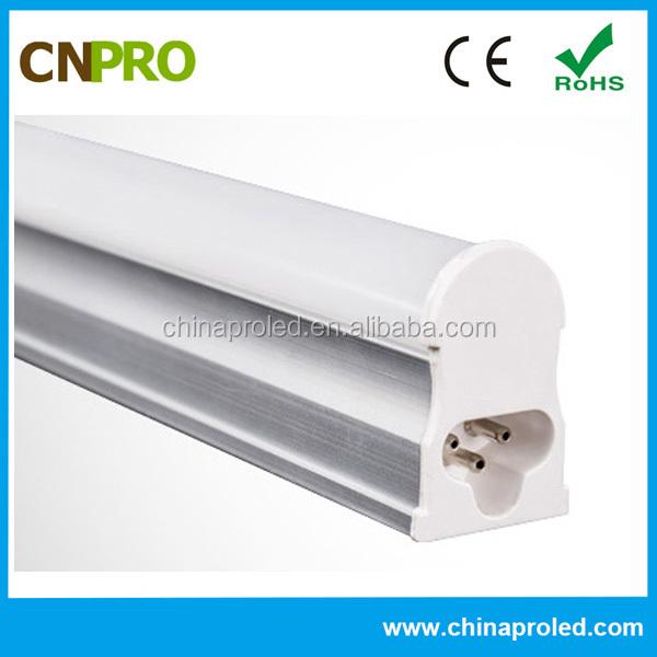 Tiết kiệm năng lượng hệ số công suất cao tích hợp led ánh sáng ống t5 9 wát dẫn ống 0.6 m rõ ràng/milky bìa 2 năm bảo hành