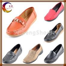 latest hot sale wholesale cheap flat casual fashion shoe woman 2012
