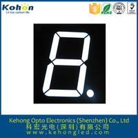 Rohs approval 0.56'' 7-segment single digit bi-color electronic machine led display