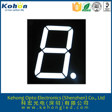 Rohs approval 0.56'' 7-segment single digit bi-color electronic machine led display