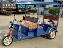 Chinese battery powered / electric pedicab rickshaw