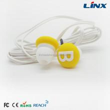 Cute silicone earphone rubber cover