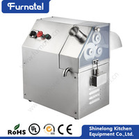 Industrial Stainless Steel Electric Sugar Cane Juicer For Sale