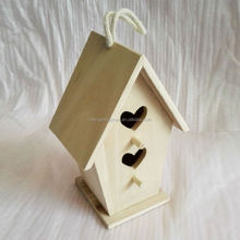 2015 Year China Supplier Factory Selling Garden Wild Outdoor Wooden Bird House For Manufacture Wholesale