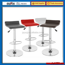 GY 740 NEW Black Hydraulic bar Stool salon Modern chrome LEM chair Adjustable foot rest