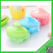 Customized Weight loofah mesh bath sponge wholesale,Shower mesh bath sponge